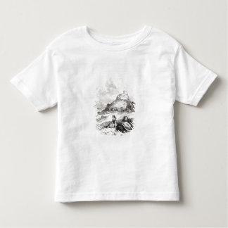 「デイヴィッドからのとびらのイラストレーション トドラーTシャツ