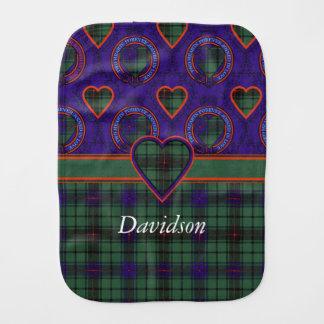デイヴィッドソンの一族の格子縞のスコットランド人のタータンチェック バープクロス