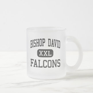 デイヴィッド- 《鳥》ハヤブサ司教-高ルーイスビル フロストグラスマグカップ
