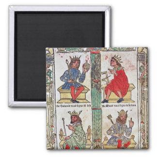 デイヴィッド、Solomon、ルーバ語およびTurnis王 マグネット