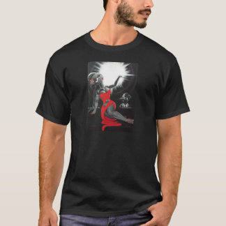 デイヴィッドBerbia著再版された絵画 Tシャツ