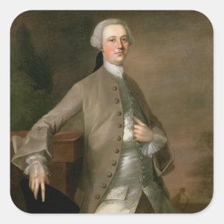 デイヴィッドGarrick (1717-79年)のポートレート、1742年(油 スクエアシール