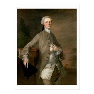 デイヴィッドGarrick (1717-79年)のポートレート、1742年(油 ポストカード