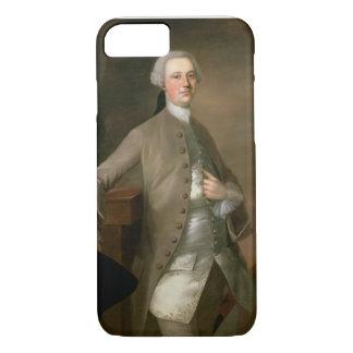 デイヴィッドGarrick (1717-79年)のポートレート、1742年(油 iPhone 8/7ケース