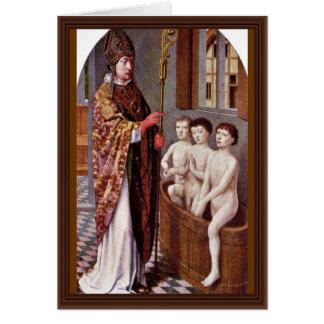 デイヴィッドGerard著セントニコラスの2つの伝説 カード