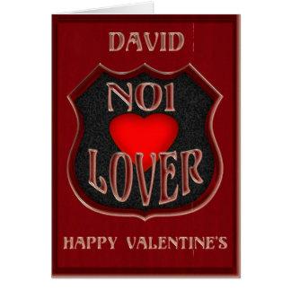 デイヴィッドNo1の恋人、ハッピーバレンタインデー カード