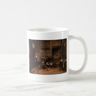 デイヴィッドTeniers著台所の猿より若いの コーヒーマグカップ