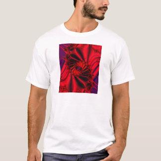 デカダンスの抽象的なフラクタルデザインのTシャツ Tシャツ