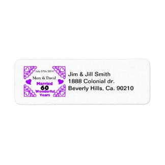 デキセドリン錠の渦巻の名前は及び60 Yr記念日に日付を記入します ラベル