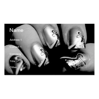 デザイナー指の爪 スタンダード名刺