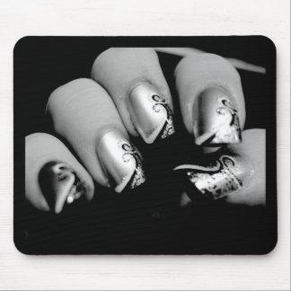 デザイナー指の爪 マウスパッド