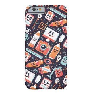 デザイナー用具 BARELY THERE iPhone 6 ケース