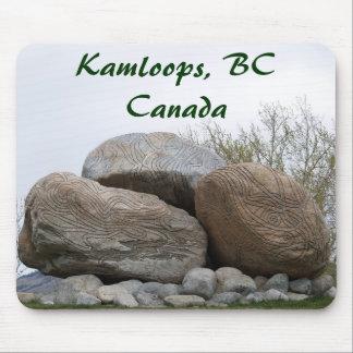デザイナー石、Kamloops、紀元前にカナダ マウスパッド