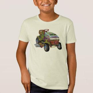 デザイナー芝刈り機 Tシャツ