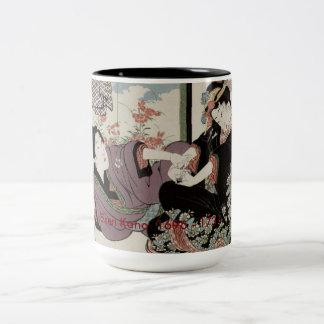 デザイナー芸術のマグ ツートーンマグカップ