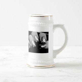 デザイナー|指の爪 コーヒーマグカップ