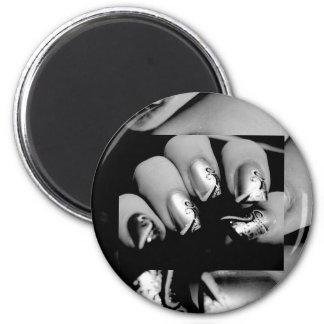 デザイナー 指の爪 冷蔵庫マグネット