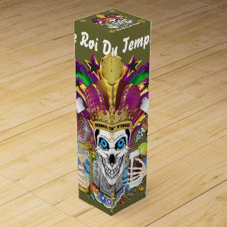 デザインについての時間の謝肉祭のカーニバルの眺めの王 ワインギフトボックス