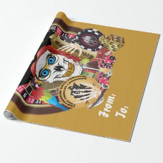 デザインについての海賊カジノ1の重要な読書 ラッピングペーパー