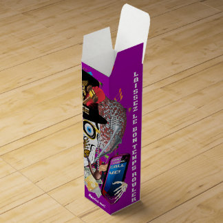 デザインについての謝肉祭の裁判官のデザイン2の眺め ワインギフトボックス