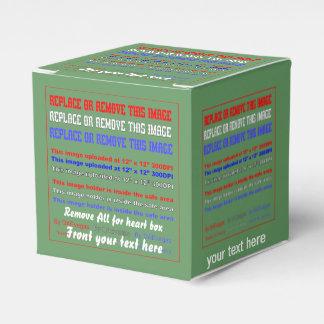 デザインについての37色の背部眺め上の箱のテンプレート フェイバーボックス