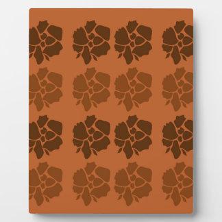 デザインによってはethnoの茶色が開花します フォトプラーク