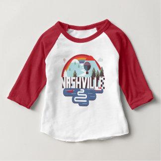 デザインのナッシュビル ベビーTシャツ