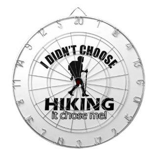デザインのハイキング ダーツボード