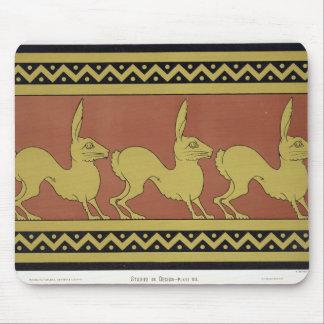 「デザインの勉強」からのプレートVII、c.1874-76 (ついている マウスパッド