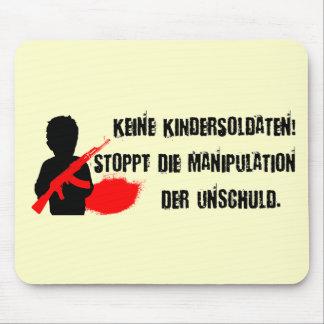 デザインのfür Kinderrechte: Keine Kindersoldaten! マウスパッド