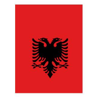 デザインをくまなくアルバニア ポストカード