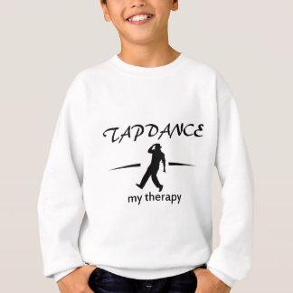 デザインをタップダンスして下さい スウェットシャツ