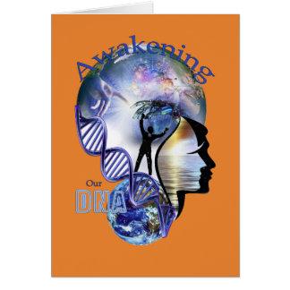 デザインを覚醒させるDNA グリーティングカード