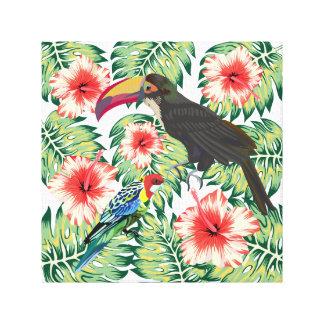 デザインシリーズ1熱帯極楽鳥 キャンバスプリント