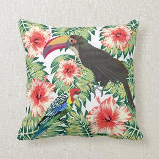 デザインシリーズ1熱帯極楽鳥 クッション