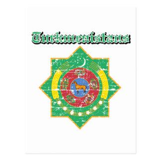デザインタキマンニスタンの紋章付き外衣 ポストカード