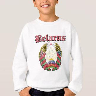 デザインベルラーシのグランジな紋章付き外衣 スウェットシャツ