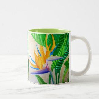デザイン極楽鳥 ツートーンマグカップ