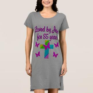 デザイン85年の間イエス・キリスト著愛されるクリスチャン ドレス