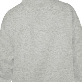デザイン あなたの 所有するため 灰色 フード付きスウェットシャツ