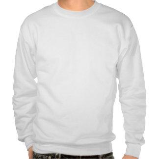 デザイン あなたの 所有するため 白い スウェットシャツ