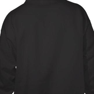 デザイン あなたの 所有するため 黒 フード付きスウェットシャツ