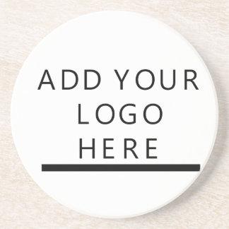 -デザイン-加えますあなたのロゴをカスタマイズ コースター