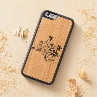 デザイン CarvedチェリーiPhone 6バンパーケース