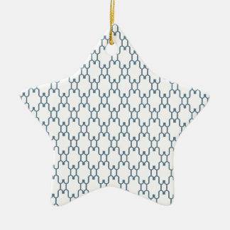 デザインtiles.png 陶器製星型オーナメント