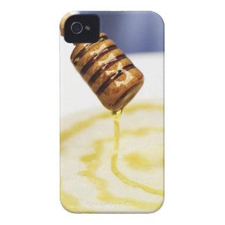 デザートでしたたる蜂蜜のクローズアップ Case-Mate iPhone 4 ケース