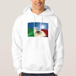 デジタルによって発生させるメキシコの旗の波立つこと パーカ