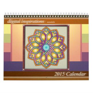 デジタルインスピレーション曼荼羅2015のカレンダー カレンダー