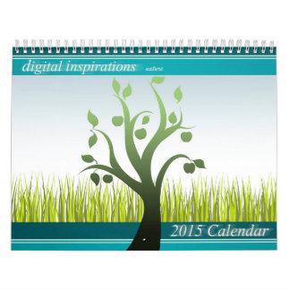 デジタルインスピレーション自然2015のカレンダー カレンダー
