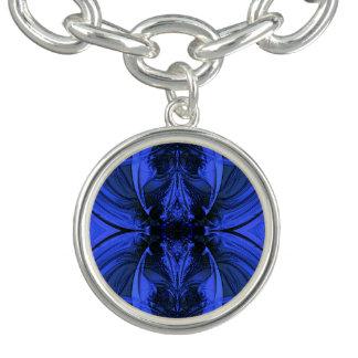 デジタルエレガントで青いデザイン ブレス